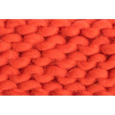Merino Schurwolle Acid Orange ( 20 cm )