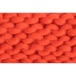 Merino Schurwolle Orange ( 40 cm )
