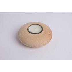 Ash wood tealight Natur ( 10 cm )