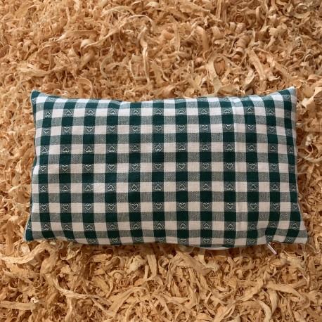 Swiss stone pine cushion Tirol. Classic ( 25 cm / green )