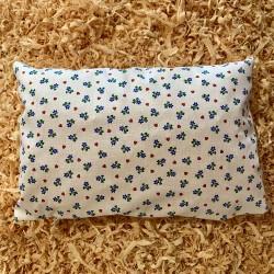 Cuscino di pino cembro Cuore Fiore Bianco  (35 cm)
