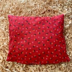 Zirbenkissen Herzblume Rot (35 cm)