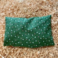 Zirbenkissen Herzblume Grün (25 cm)