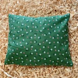 Zirbenkissen Herzblume Grün (30 cm)