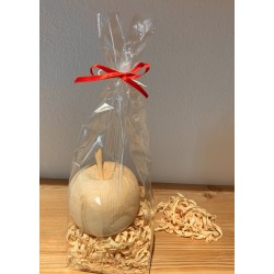 1 x Swiss stone pine apple grande Packed with Swiss stone pine shavings (10 cm)