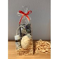 1 x pigna (6 cm) di pino cembro & 1 x Kurt Art Premium olio di pino cembro