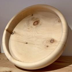 Swiss stone pine bowl Stube Slim (38 cm) Limited Edition