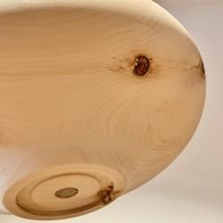 Swiss stone pine fruit bowl (33cm)