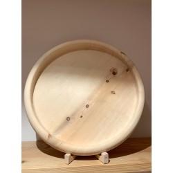 Swiss stone pine bowl Stube Slim XXL (50 cm)