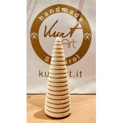 Swiss pine wood (19cm) fir tree Modern Kurt Art