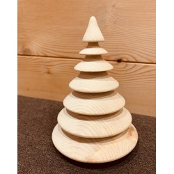 Swiss pine wood (14 cm) fir tree Classic Kurt Art