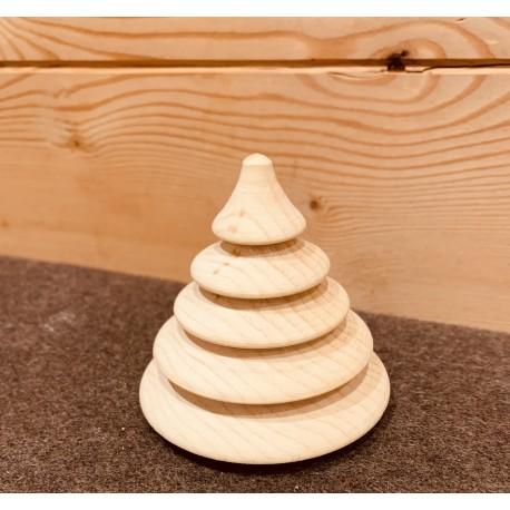 Swiss pine wood (8cm) fir tree Classic Kurt Art