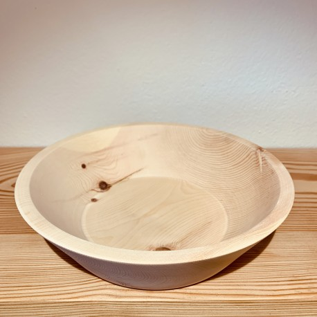 Swiss stone pine bowl Stilosa (26cm)
