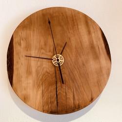 Kurt Art wall wooden clock / walnut from Kastelruth