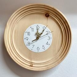Kurt Art wall wooden clock / pine wood from Kastelruth