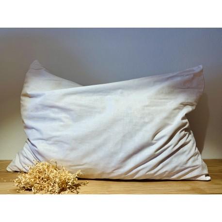 Swiss stone pine sleeping pillow (60 x 80 cm 100% cotton)