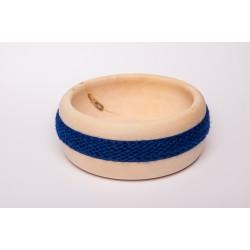Zirbenschale Wolle Mittel (Royalblau)