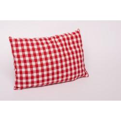Zirbenkissen Premium Tracht mit Spitze ( Rot )