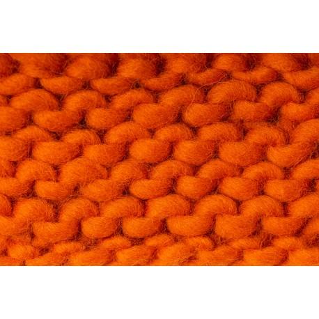 Merino Schurwolle Orange ( 40 cm )