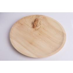 Zirbenholz Zirbenteller Flach ( 45 cm )