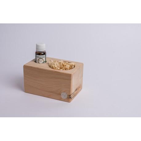 Zirbenspender mit Zirben Späne & Premium Zirben Öl