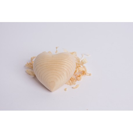 Swiss stone pine heart ( 6 cm )